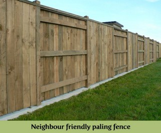 Neighbour friendly paling fence.JPG